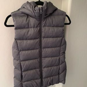 Uniqlo Down Vest with Removable hood